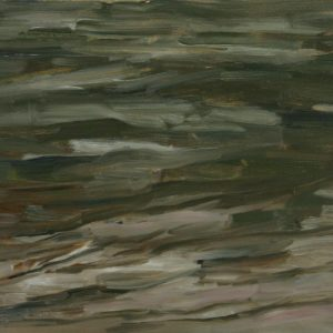 River Water - oil on gesso bord; 8 x10 inches; ©2009