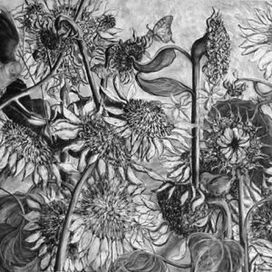 Fecundity- charcoal on paper; 30 x 40 inches - SOLD