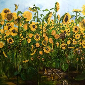 Ode to Joy - oil on canvas; 59-3/8 x 98-7/16 inches; ©2003