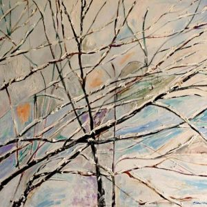 Winter Branches 1 - oil on canvas; 30 x 40 inches; ©1999 - SOLD